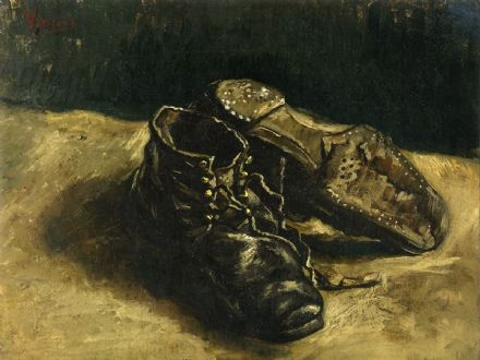 Van Gogh, Vincent: A Pair of Shoes. Fine Art Print/Poster (004202)
